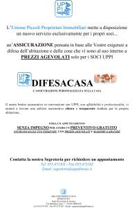 Assicurazione DIFESACASA di UPPI